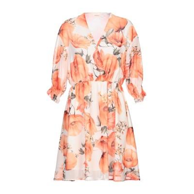 VICOLO ミニワンピース&ドレス オレンジ S ポリエステル 100% ミニワンピース&ドレス