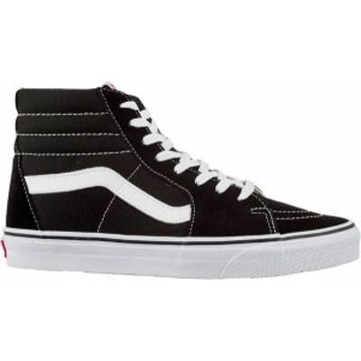 バンズ レディース スニーカー シューズ Vans SK8-Hi Shoes Black/White