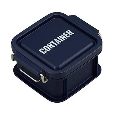 オーエスケー 弁当箱 ネイビー 容量:約300ml ランチチャイム コンテナ ランチボックス SS (ネイビー 容量:約300ml)