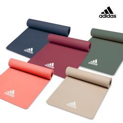 Adidas輕量波紋瑜珈墊8mm-ADYG-10100