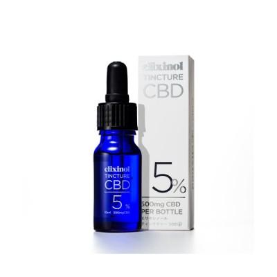 CBDオイル エリクシノール CBDティンクチャー 500 CBDヘンプオイル CBD ヘンプ エリクシノール