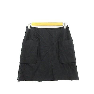 【中古】ジュエルチェンジズ Jewel Changes アローズ スカート 台形 ミニ 36 黒 ブラック /AAM17 レディース 【ベクトル 古着】