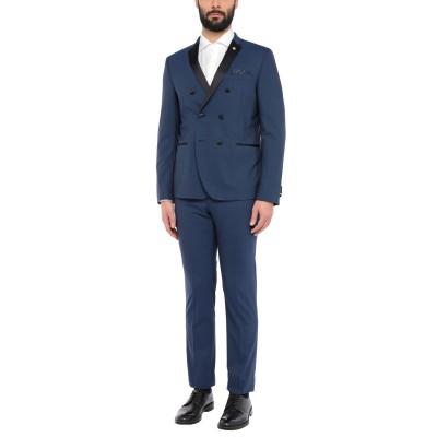 マニュエル リッツ MANUEL RITZ スーツ ブルー 54 バージンウール 97% / ポリウレタン 3% スーツ