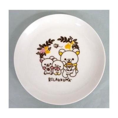 中古皿・茶碗(キャラクター) 集合 食器セレクション(皿) 「一番くじ リラックマ てぶくろをとどけにテーマ」 F
