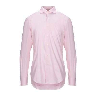 カリバン CALIBAN シャツ ピンク 43 コットン 100% シャツ