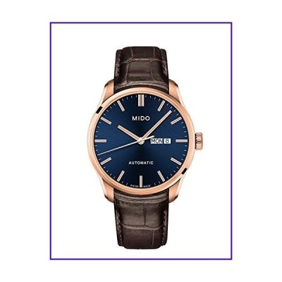 Mido Belluna II Automatic Blue Dial Men's Watch M0246303604100 並行輸入品