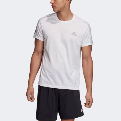 アディダス adidas オウン ザ ラン 半袖Tシャツ / Own the Run Tee (ホワイト)