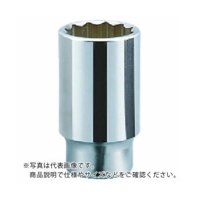KTC 19.0sq.ディープソケット(十二角) 27mm B45-27 ( B4527 ) 京都機械工具(株)