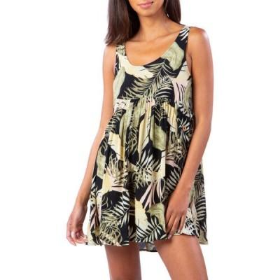 リップカール RIP CURL レディース ワンピース ワンピース・ドレス Coastal Palms Dress Black