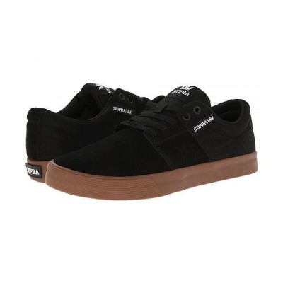 Supra スープラ メンズ 男性用 シューズ 靴 スニーカー 運動靴 Stacks Vulc II - Black/Gum