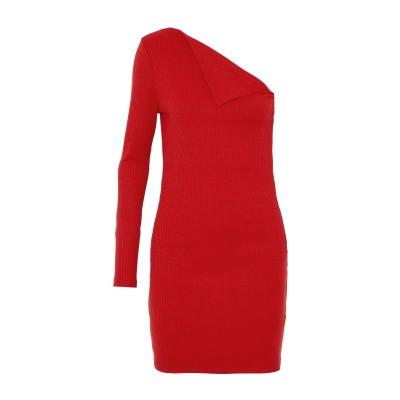 WALTER BAKER ミニワンピース&ドレス レッド L ポリエステル 95% / ポリウレタン 5% ミニワンピース&ドレス