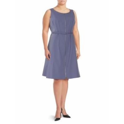 ラファイエット148ニューヨーク レディース ワンピース Coralie Zippered Knee-Length Dress