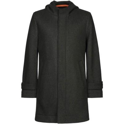 L' UOMO コート グリーン XL ウール 70% / ポリエステル 30% コート