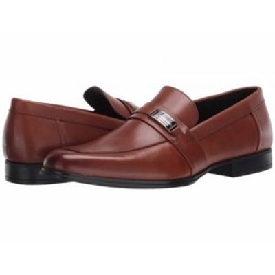 Calvin Klein カルバンクライン メンズ 男性用 シューズ 靴 ローファー Drystan Russet Crust Leather【送料無料】