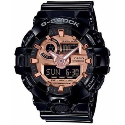 [カシオ] 腕時計 ジーショック BLACK&ROSE GOLD GA-700MMC-1AJF メンズ ブ (中古品)