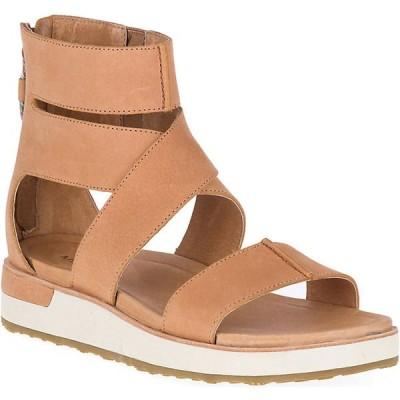 メレル サンダル レディース シューズ Merrell Women's Roam Mid Cross Sandal Tan