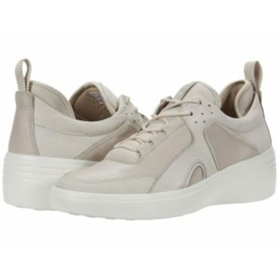 ECCO エコー レディース 女性用 シューズ 靴 スニーカー 運動靴 Soft 7 Wedge City Sneaker Gravel/Gravel Yak Nubuck/Cow【送料無料】