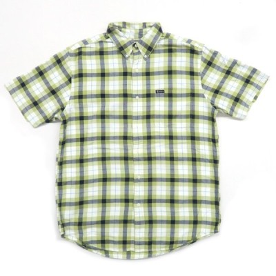チャップス ラルフローレン ボタンダウン 半袖 チェックシャツ サイズ表記:M