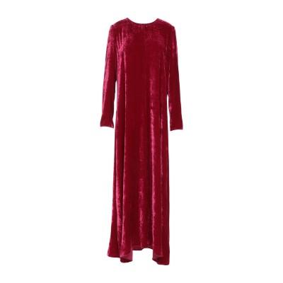 フォルテ フォルテ FORTE_FORTE ロングワンピース&ドレス ガーネット 0 レーヨン 82% / シルク 18% ロングワンピース&ドレス