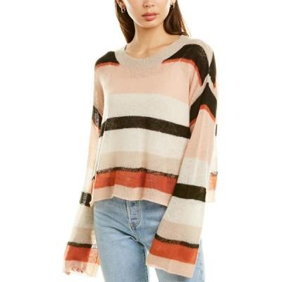 ワイルドフォックス ニット&セーター アウター レディース Wildfox Sahara Stripe Wool-Blend Sweater multicolor