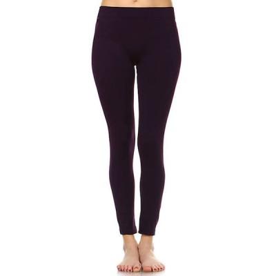 ホワイトマーク レディース カジュアルパンツ ボトムス Women's Solid Leggings