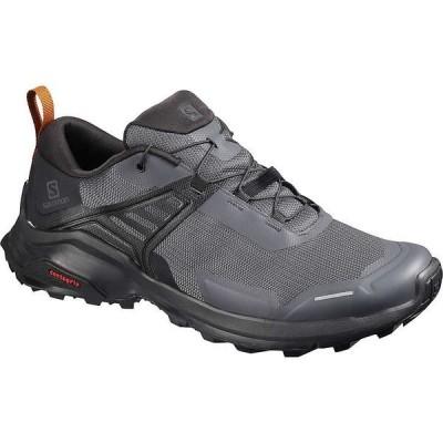 サロモン シューズ メンズ ハイキング Salomon Men's X Raise Shoe Ebony/black/caramel Caft