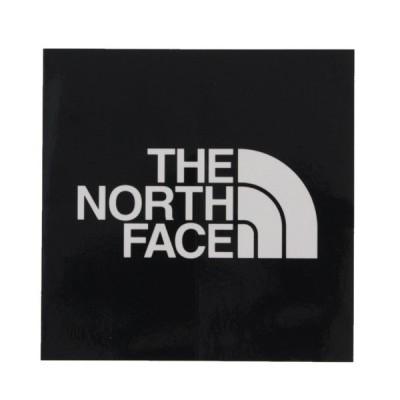 ノースフェイス TNF ステッカー 小ブラック NN-9719 キャンプ 小物 THE NORTH FACE
