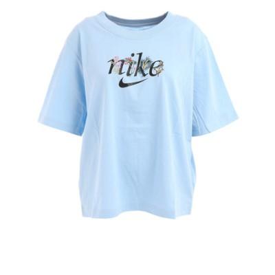 ナイキ(NIKE)Tシャツ レディース 半袖 NSW ボクシー ネイチャー DD1457-436