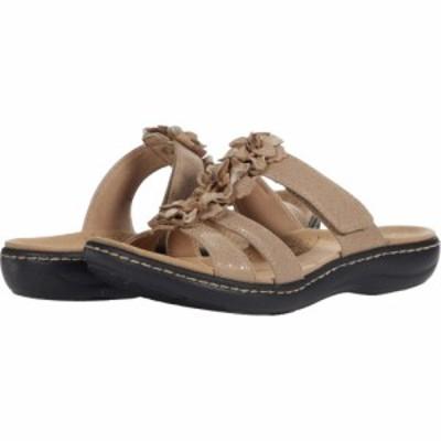 クラークス Clarks レディース サンダル・ミュール シューズ・靴 Laurieann Judi Sand Synthetic/Leather Combination