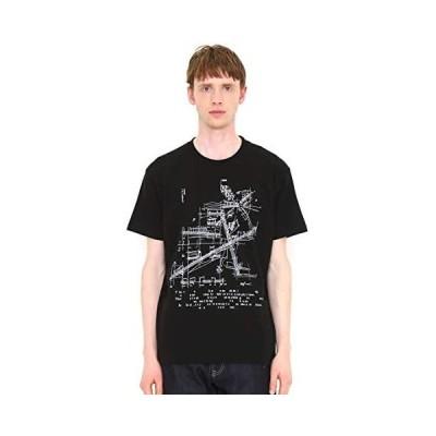 (グラニフ) graniph Tシャツ サウンドアーキテクト (ブラック) メンズ レディース (g100) (g107) (ブラック S)