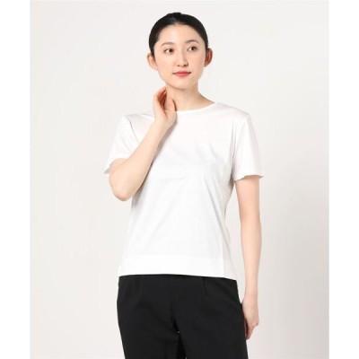 tシャツ Tシャツ 【シルケットコットン100%】半袖・クルーネック ドレスTシャツ