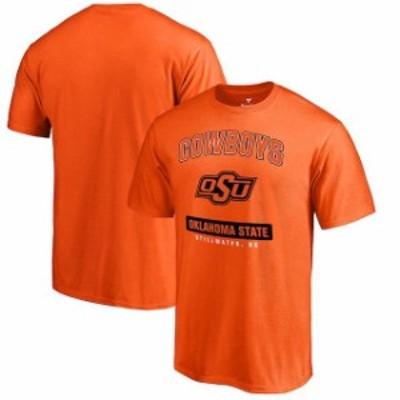 Fanatics Branded ファナティクス ブランド スポーツ用品  Fanatics Branded Oklahoma State Cowboys Orange Campus Icon T-Shirt