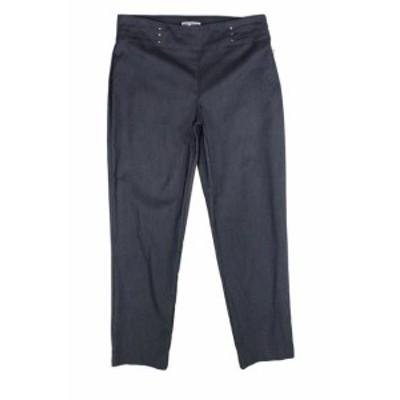 ファッション パンツ JM Collection Womens Pants Steel Gray Size Small S Cropped Stretch