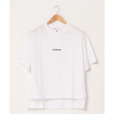 tシャツ Tシャツ スモールロゴTシャツ サイドスリット 汗染みが目立ちにくい ベストセラー機能性アイテム 「ZERO STAIN(ゼロステイン)」