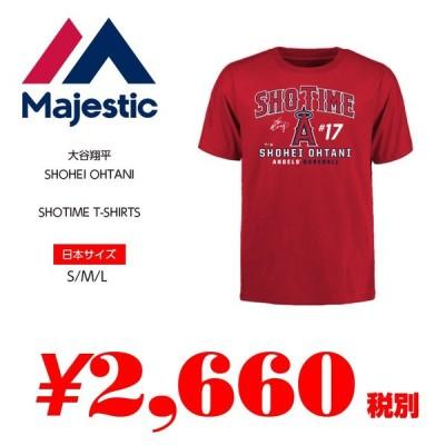大谷翔平 SHOTIME T-SHIRTS エンゼルス ショータイム Tシャツ SS 半袖 メンズ