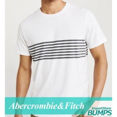 アバクロンビー&フィッチ Tシャツ 半袖 メンズ Vネック リラックスFIT ロゴ トップス XS〜XXL 新作 アバクロ