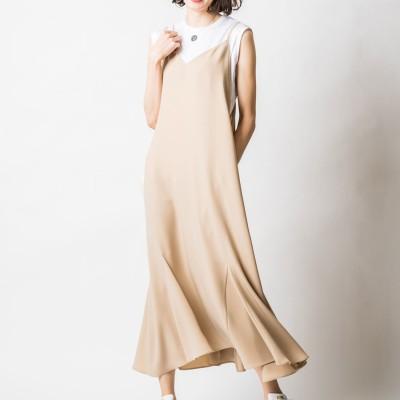 ヴィリーナ VIRINA エスタナーシングドレス (シルクベージュ)