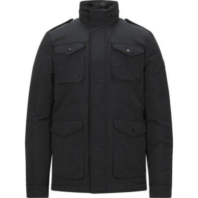 リウジョー LIU JO MAN メンズ ダウン・中綿ジャケット アウター synthetic padding Black