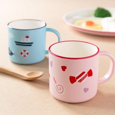 コップ 200ml Lovely Kids 合成漆器 食器 日本製 ( カップ 食洗機対応 電子レンジ対応 子ども用 マグ )