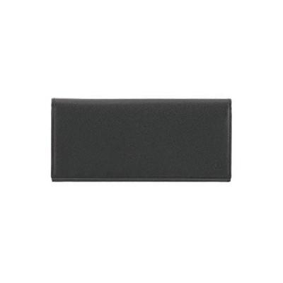 [ランバンコレクション] クウルール ド ヴァン 二つ折り長財布 JLMW0GT1 ブラック