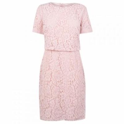 ラルフ ローレン Lauren Ralph Lauren Occasion レディース ワンピース ワンピース・ドレス LRL Jeri Lace SS Day Pink Macaron