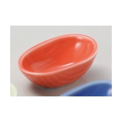 ☆ 珍味 ☆ 柿釉豆鉢 [ 5.9 x 3.8 x 2.4cm ] 【 料亭 旅館 和食器 飲食店 業務用 】