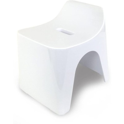 シンカテック ヒューバス 風呂椅子H25 座面高さ25cm ホワイト HU-W