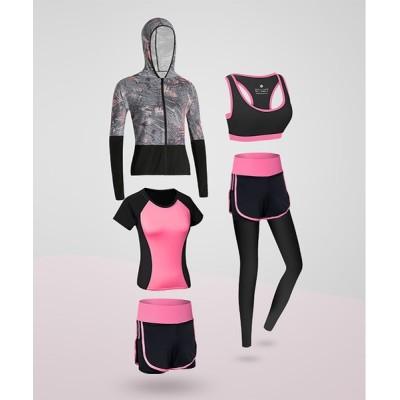 FRP / フィットネスウェア5点セット /ヨガ ジョギング WOMEN トップス > ジャージ
