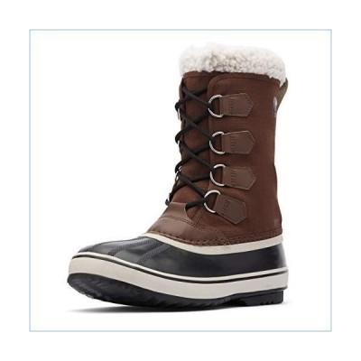 Sorel Men's 1964 PAC Nylon Boot - Waterproof - Cold Weather - Tobacco, Black - Size 11.5並行輸入品