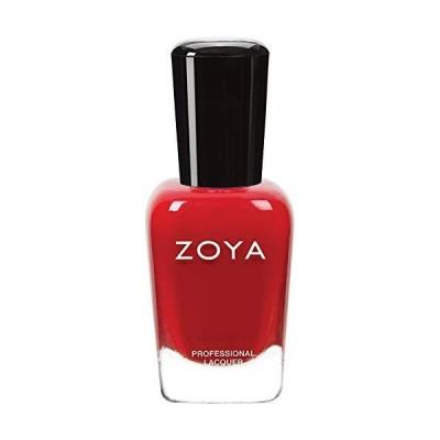 ZOYA ゾーヤ ネイルカラーZP001 CARMEN カルメン 15ml 検定カラー 鮮やかなトゥルーレッド マット 爪にやさしいネイルラッカーマニ