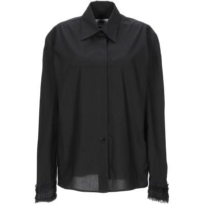 MM6 メゾン マルジェラ MM6 MAISON MARGIELA シャツ ブラック 46 コットン 100% シャツ