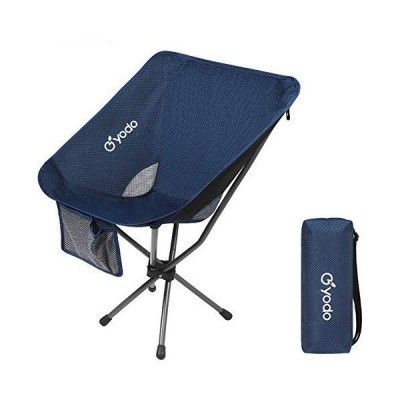 新品FTEIF Outdoor Portable Folding Backpack Chairs Fishing Camping Chairs-Navy Breathable Back