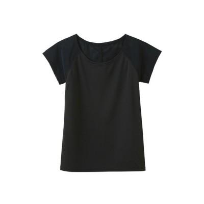 tシャツ Tシャツ 【Tuche(トゥシェ)】ピンと背筋がきれいの秘訣の フレンチスリーブ
