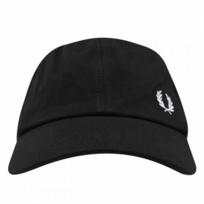 フレッドペリー Fred Perry ユニセックス キャップ 帽子 Fred Classic Cap Sn21 Black